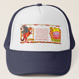 Valxart 1988 2048 EarthDragon zodiac Virgo Trucker Hat