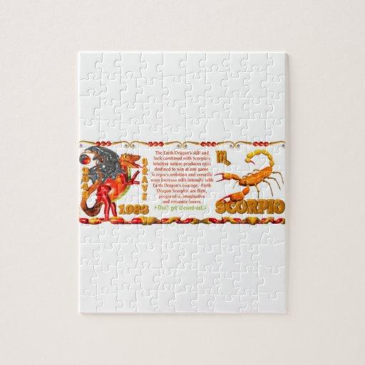 Valxart 1988 2048 escorpiones del zodiaco de Earth Rompecabezas