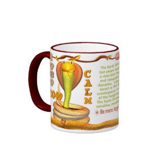 Valxart 1989 2049 EarthSnake zodiac Aquarius Ringer Mug