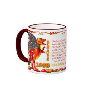 Valxart 1989 2049 EarthSnake zodiac Pisces Ringer Mug