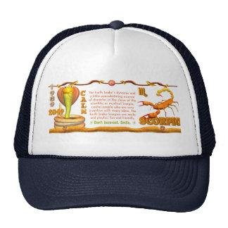 Valxart 1989 2049 EarthSnake zodiac Scorpio Trucker Hat