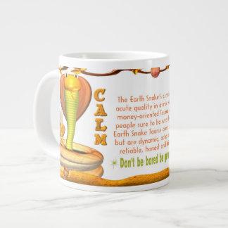 Valxart 1989 2049 EarthSnake zodiac Taurus Giant Coffee Mug