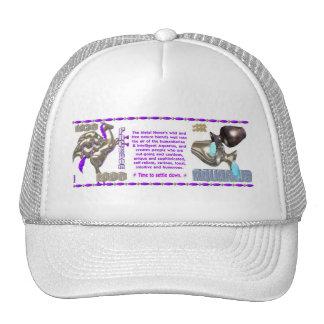 Valxart 1990 2050 MetalHorse zodiac Aquarius Mesh Hat