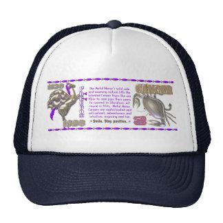 Valxart 1990 2050 MetalHorse zodiac Cancer Trucker Hat