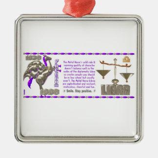 Valxart 1990 2050 MetalHorse zodiac Libra Metal Ornament
