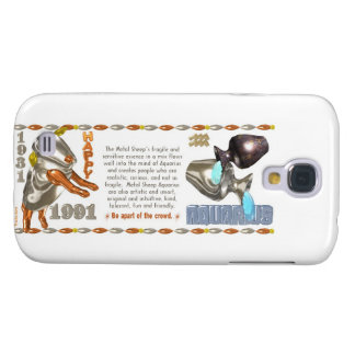 Valxart 1991 2051 MetalSheep zodiac Aquarius Galaxy S4 Cover