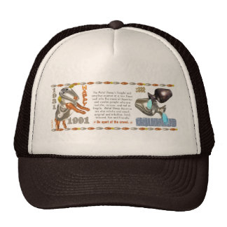 Valxart 1991 2051 MetalSheep zodiac Aquarius Mesh Hat