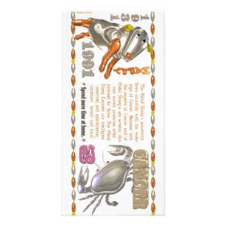 Valxart 1991 2051 MetalSheep zodiac Cancer Photo Cards