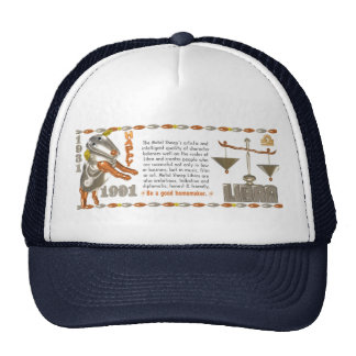 Valxart 1991 2051 MetalSheep zodiac Libra Trucker Hat