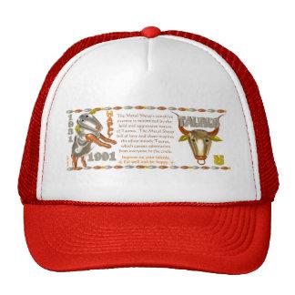 Valxart 1991 2051 MetalSheep zodiac Taurus Trucker Hat