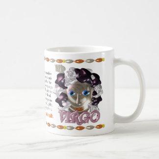 Valxart 1991 2051 MetalSheep zodiac Virgo Classic White Coffee Mug