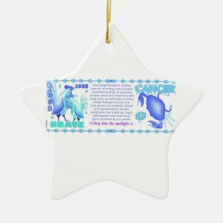 Valxart 1993 2053 cánceres del zodiaco de WaterRoo Ornamento De Reyes Magos