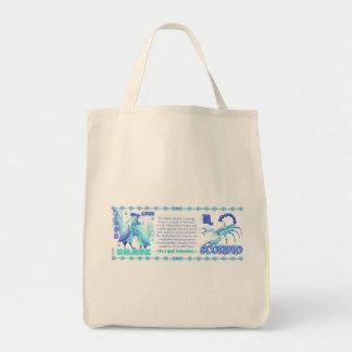 Valxart 1993 2053 escorpiones del zodiaco de bolsa tela para la compra