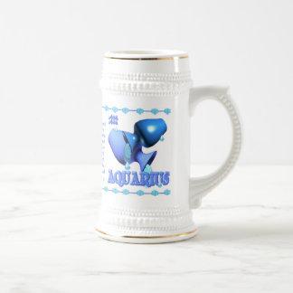 Valxart 1993 2053 WaterRooster zodiac  Aquarius Beer Stein
