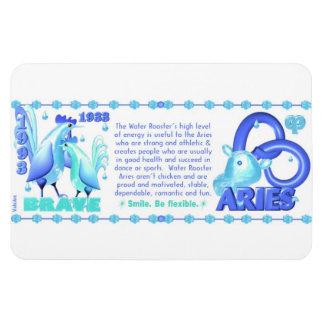Valxart 1993 2053 WaterRooster zodiac  Aries Rectangular Photo Magnet