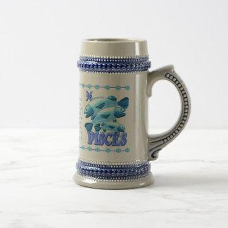 Valxart 1993 2053 WaterRooster zodiac  Pisces Beer Stein