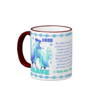 Valxart 1993 2053 WaterRooster zodiac  Sagittarius Ringer Mug