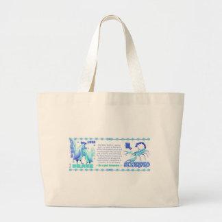 Valxart 1993 2053 WaterRooster zodiac Scorpio Large Tote Bag