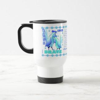 Valxart 1993 2053 WaterRooster zodiac  Taurus Travel Mug
