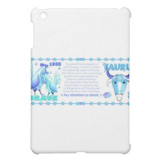 Valxart 1993 zodiac water rooster born Taurus Case For The iPad Mini