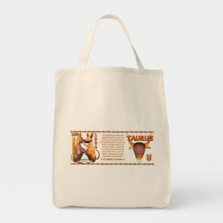 Valxart 1994 2054 tauro del zodiaco de WoodDog Bolsa Tela Para La Compra
