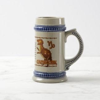 Valxart 1994 2054 WoodDog zodiac Capricorn Beer Stein