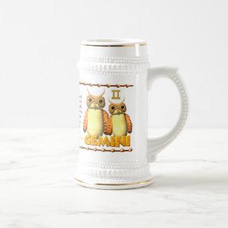 Valxart 1994 2054 WoodDog zodiac Gemini Beer Stein