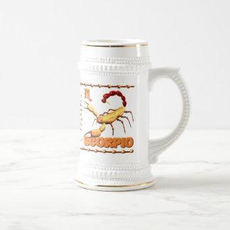 Valxart 1994 2054 WoodDog zodiac Scorpio Beer Stein