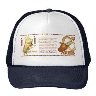 Valxart 1995 2055 WoodPig zodiac Aries Trucker Hat