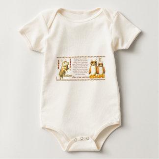 Valxart 1995 2055 WoodPig zodiac Gemini Baby Bodysuit