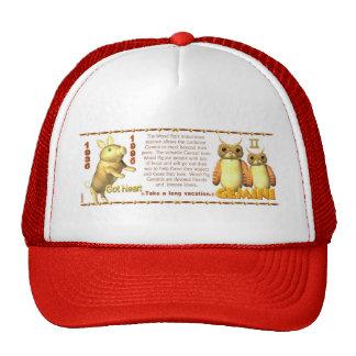 Valxart 1995 2055 WoodPig zodiac Gemini Trucker Hat