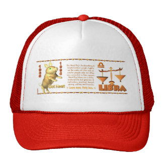 Valxart 1995 2055 WoodPig zodiac Libra Trucker Hat