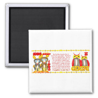 ValxArt 1996 1936 Zodiac fire rat born Gemini Magnet