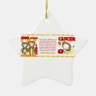 Valxart 1996 2056 cánceres del zodiaco de FireRat Ornamente De Reyes