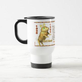 Valxart 1996 2056 FirePig zodiac Leo Travel Mug