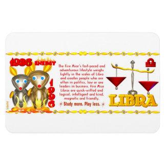 Valxart 1996 2056 FirePig zodiac Libra Magnet