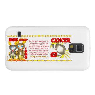 Valxart 1996 2056 FireRat zodiac Cancer Case For Galaxy S5