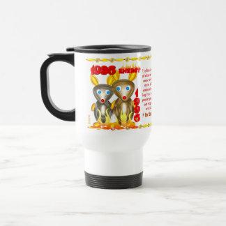 Valxart 1996 2056 FireRat zodiac Sagittarius Travel Mug