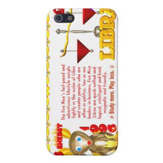 Valxart 1996 2056 libras del zodiaco de FirePig iPhone 5 Fundas