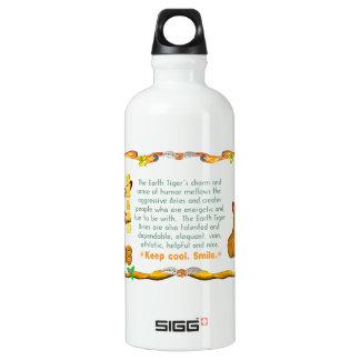 Valxart 1998 1938 2058 zodiac EarthTiger Aries Aluminum Water Bottle