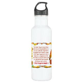 Valxart 1998 1938 2058 zodiac EarthTiger Capricorn Water Bottle