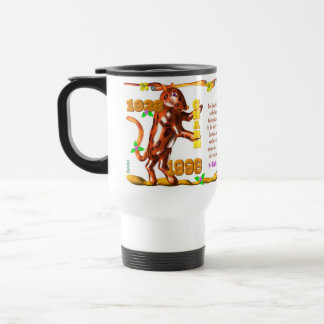 Valxart 1998 1938 2058 zodiac EarthTiger Gemini Travel Mug