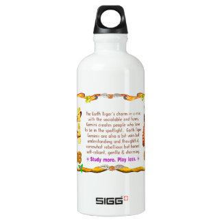 Valxart 1998 1938 2058 zodiac EarthTiger Gemini Water Bottle