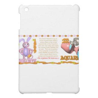 Valxart 1999 1939 2059 zodiac EarthRabbit Aquarius iPad Mini Cover