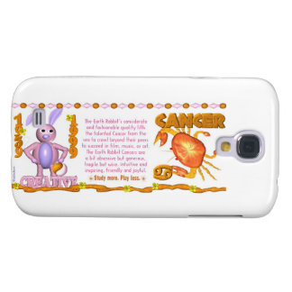 Valxart 1999 1939 2059 zodiac EarthRabbit  Cancer Samsung Galaxy S4 Case