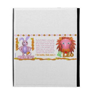 Valxart 1999 1939 2059 zodiac EarthRabbit  Leo iPad Folio Cover