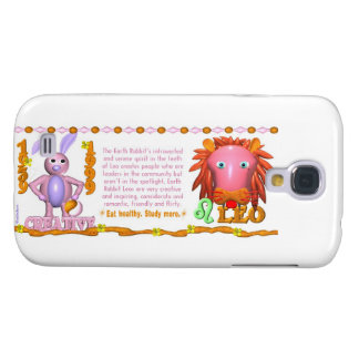 Valxart 1999 1939 2059 zodiac EarthRabbit  Leo Samsung Galaxy S4 Case