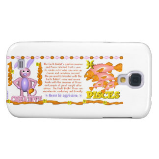 Valxart 1999 1939 2059 zodiac EarthRabbit  Pisces Samsung Galaxy S4 Cover