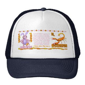 Valxart 1999 1939 2059 zodiac EarthRabbit  Scorpio Trucker Hat