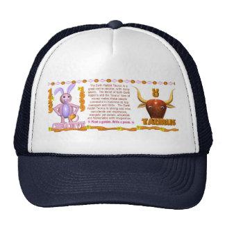 Valxart 1999 1939 2059 zodiac EarthRabbit  Taurus Trucker Hat